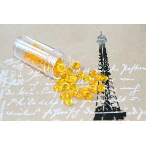 Марлбс в пластиковой баночке, цвет желто-оранжевый, PM-40103