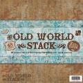 Набор бумаги Old World, 30х30 см, 24 листа, DCWV, PS-005-00008