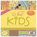 Набор бумаги Nana's Kids, 30х30 см, 24 листа, DCWV, PS-005-00020