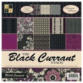 Набор бумаги Black Current, 30х30 см, 24 листа, DCWV, PS-005-00094