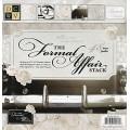 Набор бумаги Formal Affair, 30х30 см, 24 листа, DCWV, PS-005-00107