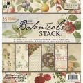 Набор бумаги Botanicals, 30х30 см, 24 листа, DCWV, PS-005-00115