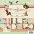 Набор бумаги Four Seasons, 30х30 см, 24 листа, DCWV, PS-005-00121