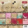Набор бумаги Ciao Bella, 30х30 см, 24 листа, DCWV, PS-005-00126