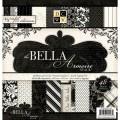 Набор бумаги Bella Amoire, 30х30 см, 24 листа, DCWV, PS-005-00140