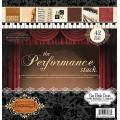 Набор бумаги Performance, 30х30 см, 21 лист, DCWV, PS-005-00155