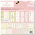 Набор бумаги Preppy Princess, 30х30 см, 24 листа, DCWV, PS-005-00163