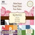 Набор бумаги Modern Bouquet, 30х30 см, 24 листа, Recollections, PS-005-00172