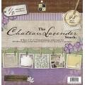 Набор бумаги Chateau Lavander, 30х30 см, 24 листа, DCWV, PS-005-00201
