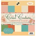 Набор бумаги Coral Couture Solid, 30х30 см, 24 листа, DCWV, PS-005-00204