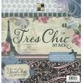 Набор бумаги  Le Tres Chic, 30х30 см, 24 листа, DCWV, PS-005-00205