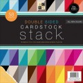 Набор бумаги Double Sided Cardstock, 30х30 см, 58 листов, DCWV, PS-005-00259