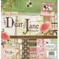 Набор бумаги Dear Jane, 30х30 см, 24 листа, DCWV, PS-005-00263