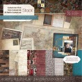 Набор бумаги Industrial Chic, 30х30 см, 24 листа, DCWV, PS-005-00277