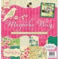 Набор бумаги Magnolia Way, 30х30 см, 24 листа, DCWV, PS-005-00282