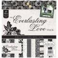 Набор бумаги Everlasting Love, 30х30 см, 24 листа, DCWV, PS-005-00295