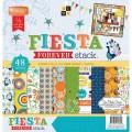 Набор бумаги Fiesta Forever, 30х30 см, 48 листов, DCWV, PS-005-00296