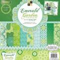 Набор бумаги Emerald Garden, 30х30 см, 24 листа, DCWV, PS-005-00306