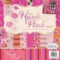 Набор бумаги Haute Pink, 30х30 см, 24 листа, DCWV, PS-005-00312