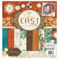 Набор бумаги Far East 2, 30х30 см, 24 листа, DCWV, PS-005-00313