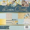 Набор бумаги Linen Closet, 30х30 см, 24 листа, DCWV, PS-005-00316