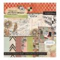 Набор бумаги Vintage Lane, 30х30 см, 24 листа, DCWV, PS-005-00321