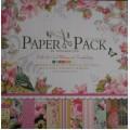 Бумага для скрапбукинга Paper Pack 12х12-Happy Birthday, PS001
