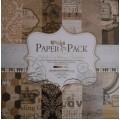 Бумага для скрапбукинга Paper Pack 12х12-Retro Style, PS003