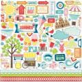 Наклейки A Perfect Summer  Element Stickers, Echo Park, PS47014