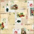 Лист картона Letters to Santa, Echo Park, RC55008