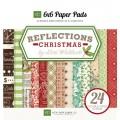 Набор бумаги Reflections Christmas, 15x15 см, 24 листа, Echo Park, RC55023