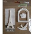 Набор декора Paris, пластик, Китай, RE01