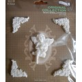 Набор декора Angel, пластик, Китай, RE03