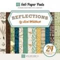 Набор бумаги Reflections, 12 листов, 15х15 см, Echo Park, RE52023