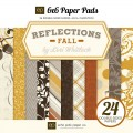 Набор бумаги Reflections Fall, Echo Park,15 х 15 см, 12 листов, RF53023