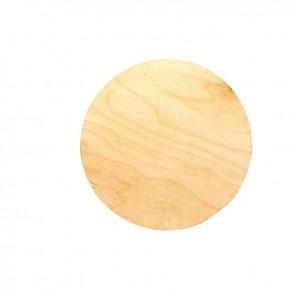 Заготовка для декупажа Круг, 10 см, фанера, RT286003