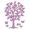 Ножи Flutter Tree, Spellbinders, 4шт, размеры от 0.3см х 0.6см до 7см х 9.5см, S2-083