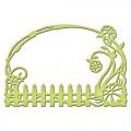 Ножи Floral Fence, Spellbinders, размер 8.9 х 6 см, 1шт, S2-111