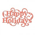 Ножи Happy Holidays Sentiment, Spellbinders, S2-121