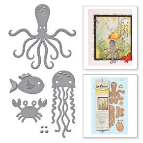 Ножи Sea Animals, Spellbinders, S3-257