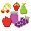 Ножи Assorted Fresh Fruit, Spellbinders, S4-266