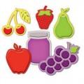 Ножи Assorted Fresh Fruit, Spellbinders, S4-266