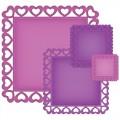 Ножи Heart Squares, S4-343