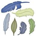 Ножи Feathers, Spellbinders, S4-428