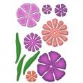 Ножи Carnation Creations, Spellbinders, 9шт, размер от 2см до 7см, S5-049