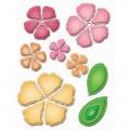 Ножи Rose Creations, Spellbinders, 9 шт, размер от 2см до 7см, S5-050
