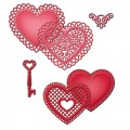 Ножи Lace Hearts, Spellbinders,S5-204