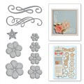 Ножи Cinch And Go Flowers, Spellbinders, S6-050