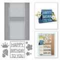 Ножи Decorated Birthday, Spellbinders, S7-202