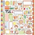 Скрап бумага С Днем рождения-Карточки Сюрприз,30,5х30,5 см, SCB220602813